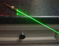 Мощная лазерная указка Green laser Pointer 30 мВт — Зеленый лазер!