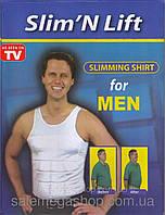 Мужская коррекционная майка Слим-энд-Лифт (Slim'N Lift