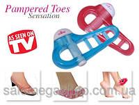 Массажер для пальцев ног Pampered Toes Sensation (Пэмперд Тус)
