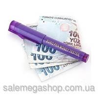 Детектор валют, маркер для проверки валют с фонариком, карандаш для проверки денег, euro pen money tester