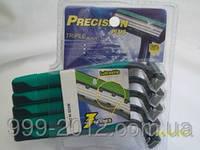 3 штуки станки одноразовые мужские для бритья Precision Plus Triple Blades (Китай)