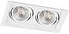 Карданный светодиодный светильник 12В 4000K AL202 2хCOB белый