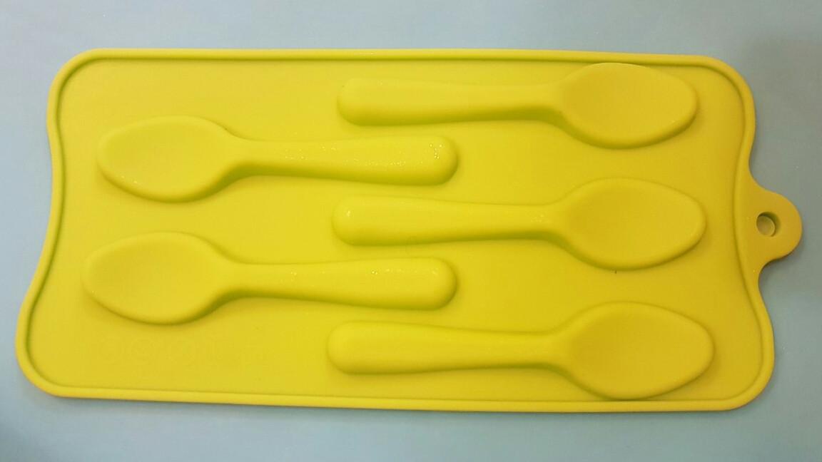 Форма силиконовая для конфет Ложки