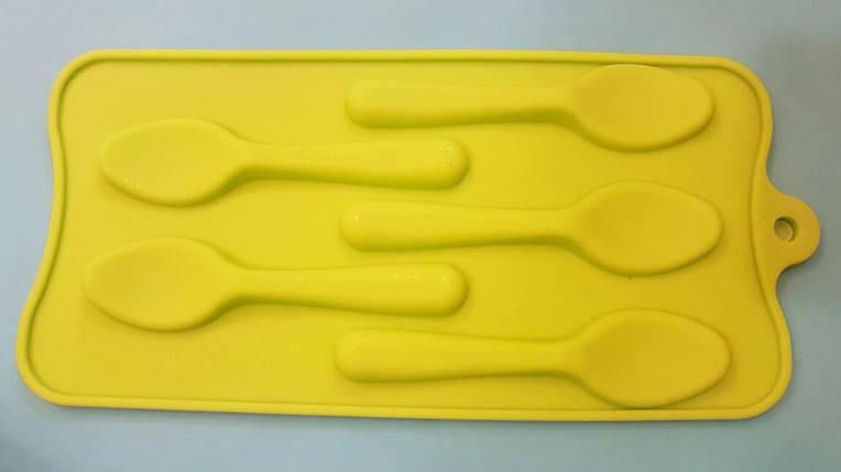 Форма силиконовая для конфет Ложки, фото 2