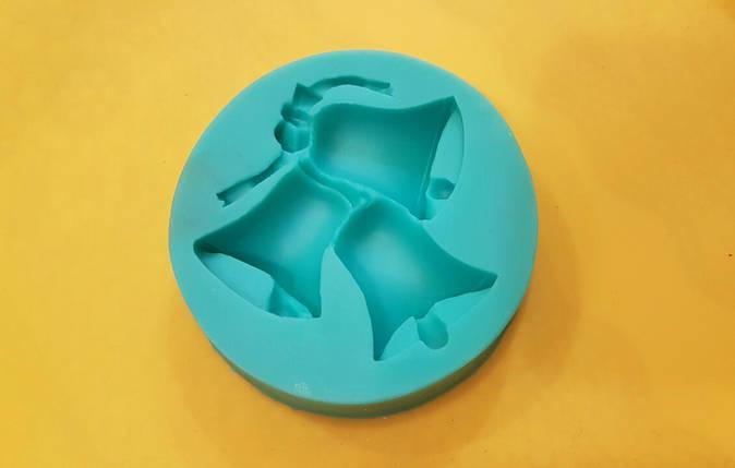 Молд силиконовый Колокольчики, фото 2