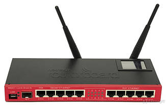 Маршрутизатор Wi-Fi Mikrotik RouterBoard RB/2011UiAS-2HnD-IN