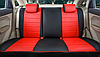 Чехлы на сиденья Ниссан Тиида (Nissan Tiida) (модельные, экокожа, отдельный подголовник), фото 9
