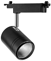 Трековый светильник 50Вт 4000K черный, AL104 COB
