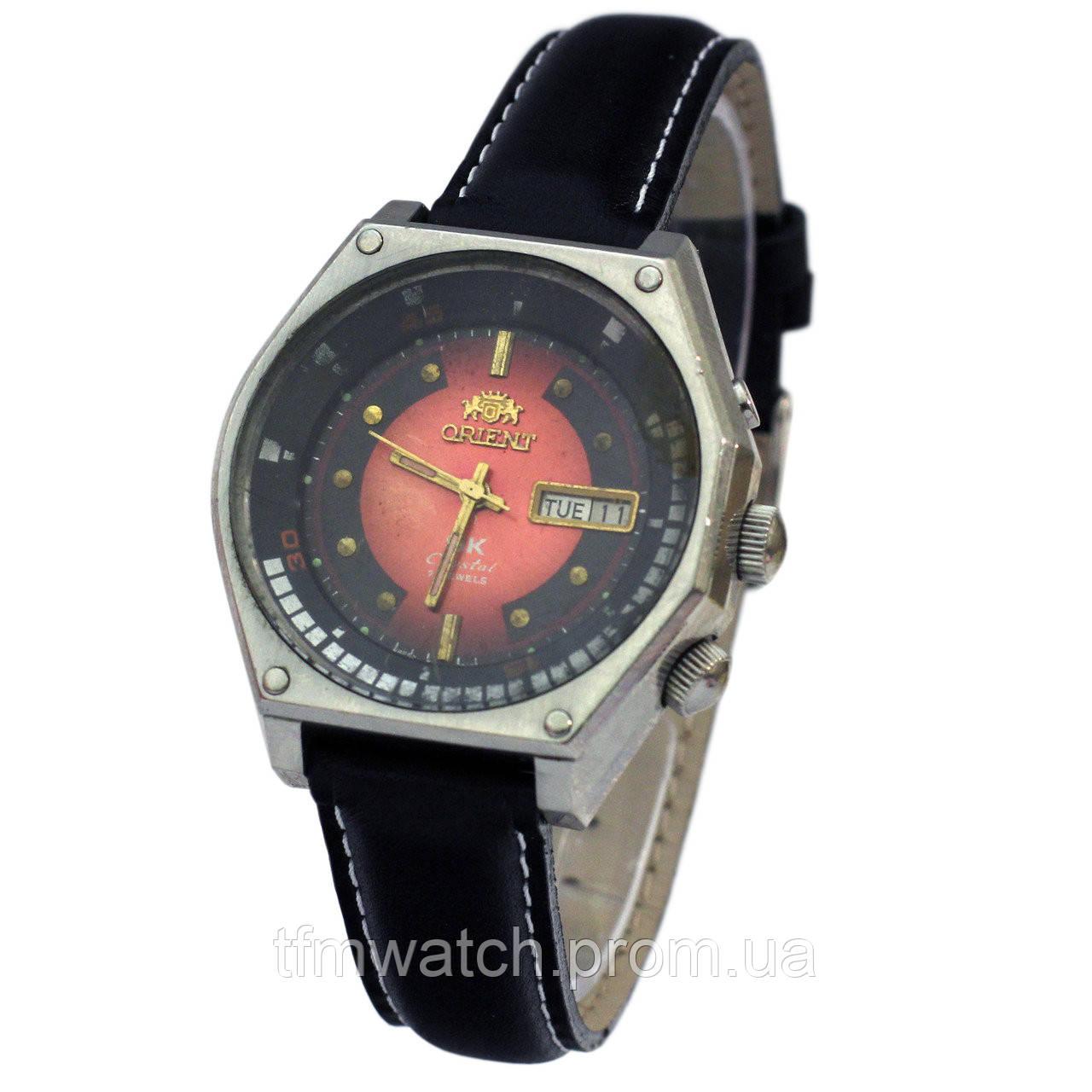 d3dc0bc2 Мужские часы Ориент с автоподзаводом - Магазин старинных, винтажных и  антикварных часов TFMwatch в России