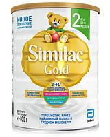 Similac. Смесь Similac Gold 2 с пребиотиками, от 6  до 12 мес., 800 г. (5391523058162)