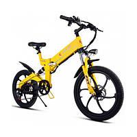 Электровелосипед Chic KJING Желтый (013h7cv1349)