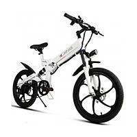 Электровелосипед Chic KJING Белый (013c3jxx1347)