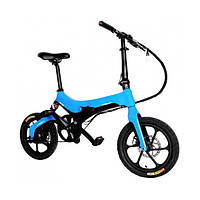Электровелосипед Onebot S6 Синий (013omnymq1345)