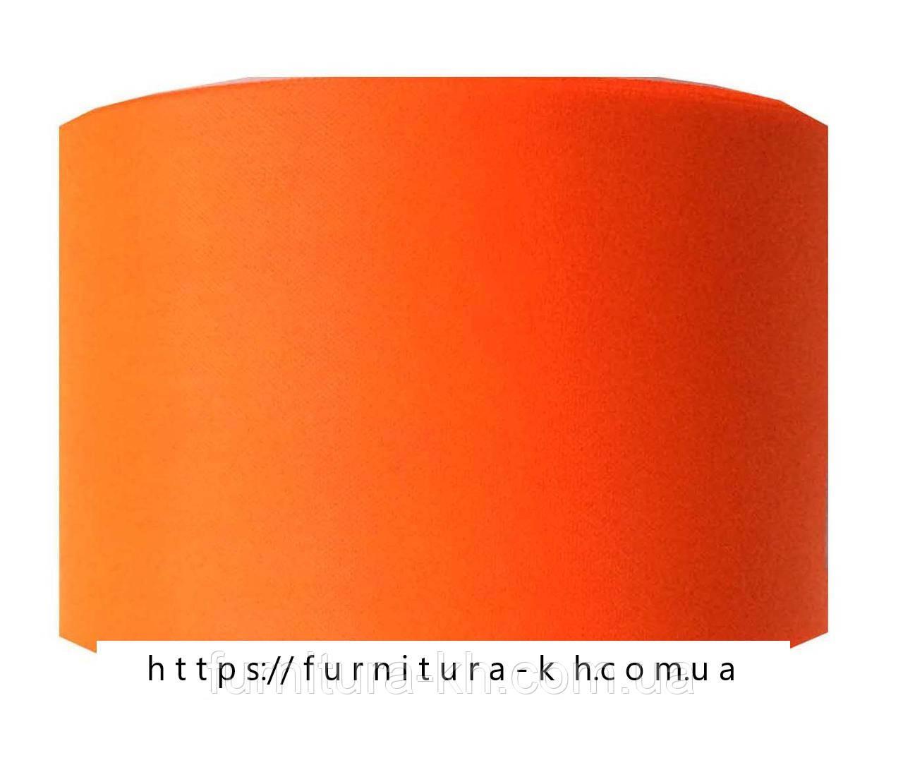 Лента шелковая, цвет оранжевый, ширина 50 мм (50 м в бобине)