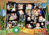 """Фотоколаж з днем народження """"Твій день"""", фото 7"""
