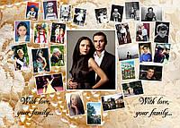 Свадебный фотоколлаж на юбилей родителей заказать в Харькове, фото 1