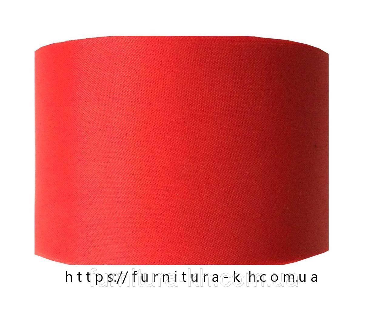 Лента шелковая, цвет красный, ширина 50мм (50м в бобине)