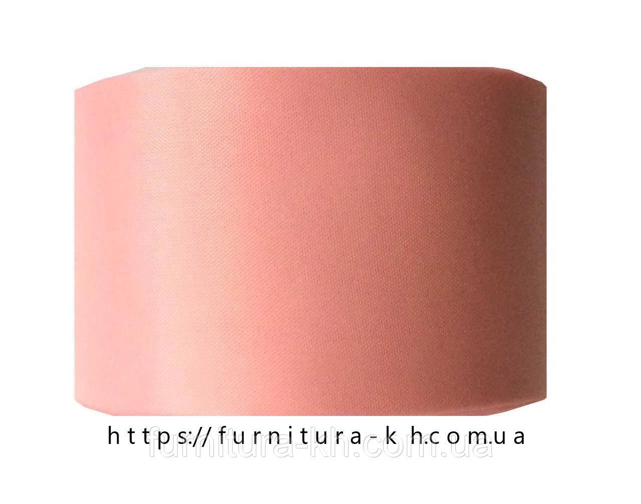 Лента шелковая, цвет светло-розовый, ширина 50 мм (50 м в бобине)