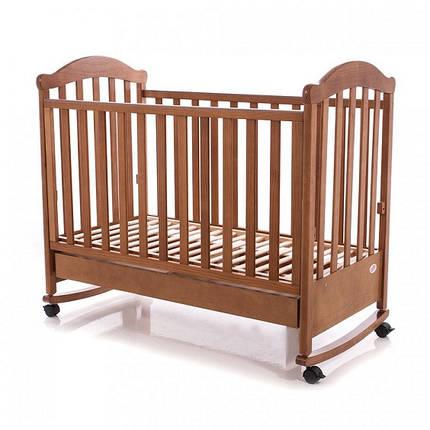 Детская кроватка Baby Care BC-475BC тик, фото 2