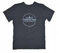 "Футболка ""Fishing ROI"" M (антрацит)"