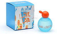 Moschino I Love Love - Туалетная вода (Оригинал) 4,9ml (миниатюра)