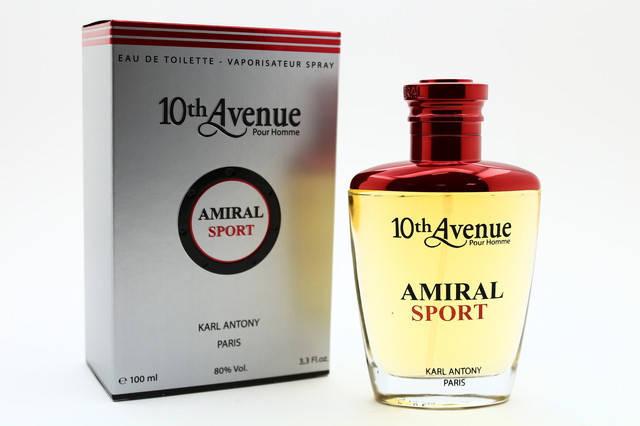 Туалетная вода 10 Avenue Amiral Sport M 100ml, фото 2