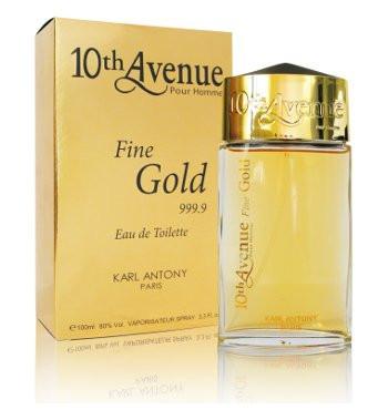 Туалетная вода 10 Avenue Fine Gold M100 ml