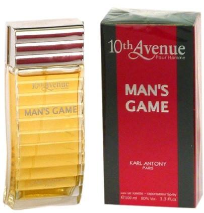 Туалетная вода 10 Avenue MAN*S GAME M100