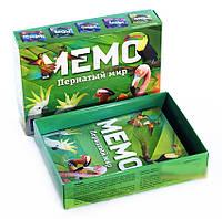 Настольная игра МЕМО. Пернатый мир