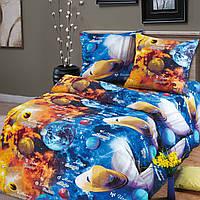 """Подростковое постельное белье Kidsdream """"Парад планет"""" полуторного размера."""