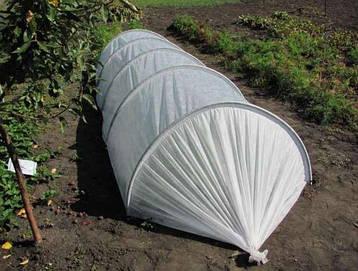 Парник, Тепличка 120см ширина, 80см высота, 3м длина мини-теплица. Плотность 40г/м2 Чехия, фото 2