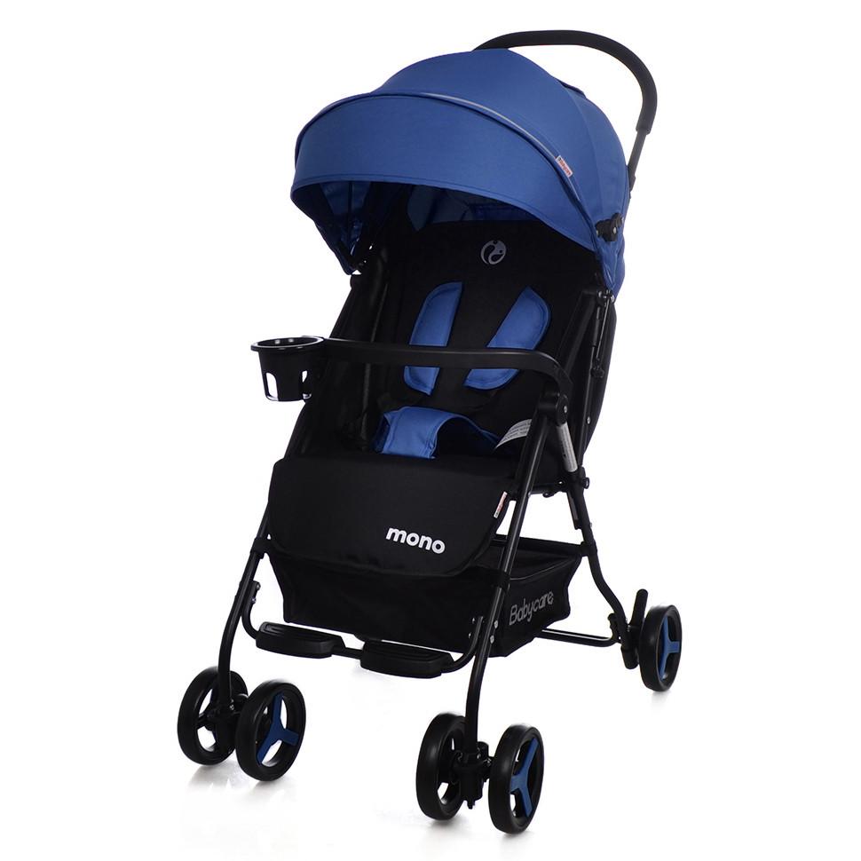 Коляска прогулочная Mono, «Babycare» (BC-1417), цвет Blue (синий)