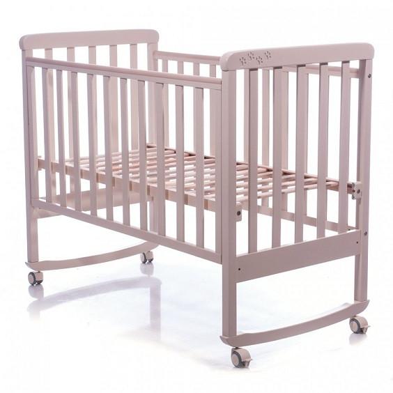 Детская кроватка Соня ЛД12 слоновая кость Верес