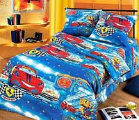 """Подростковое постельное белье Kidsdream """"Раллі"""" полуторного размера."""