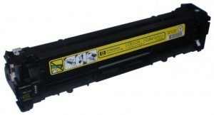 Пустой картридж HP CE412A (305A) Yellow