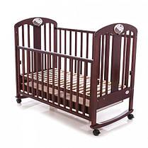 Детская кроватка Baby Care BC-435M темная орех, фото 3