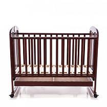 Детская кроватка Baby Care BC-435M темная орех, фото 2