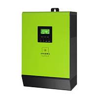 Сетевой солнечный инвертор с резервной функцией 5кВт, 220В, 1-фазный, 2 МРРТ, ISGRID 5000, AXIOMA energy
