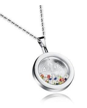 Медальон Сан Бенито с камнями Сваровски