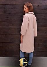 Осеннее пальто из экокашемира, фото 3
