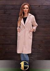 Осеннее пальто из экокашемира, фото 2