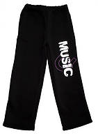 "Теплые брюки для мальчика ""MUSIC"""