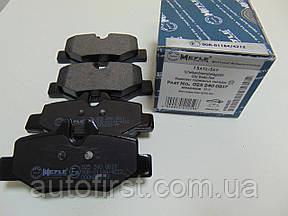 Meyle 025 240 0817 Колодки тормозные задние Vito 639