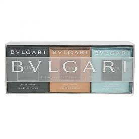 Парфюмерная вода мужская Bvlgari The Agva pocket spray collection, 3x15 мл
