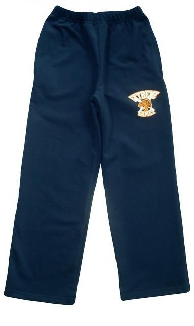 """Спортивные брюки """"Тигр"""", рост 128, цвет: синий"""