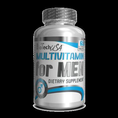 Вітаміни Multivitamin For Men BioTech USA - 60 таб, фото 2