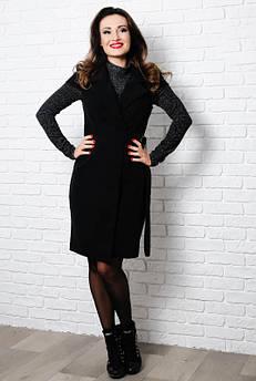 Элегантный черный жилет  Кристель