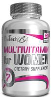 Вітаміни для жінок Multivitamin For Women BioTech USA - 60 таб