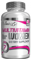 Вітаміни для жінок Multivitamin For Women BioTech USA - 60 таб