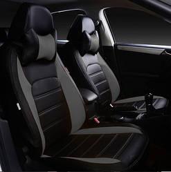 Чехлы на сиденья Тойота Аурис (Toyota Auris) (модельные, НЕО Х, отдельный подголовник)